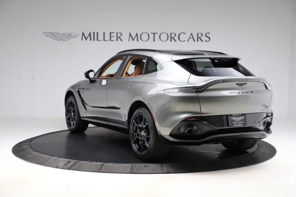 New 2021 Aston Martin DBX for sale $226,136 at Rolls-Royce Motor Cars Greenwich in Greenwich CT 06830 4