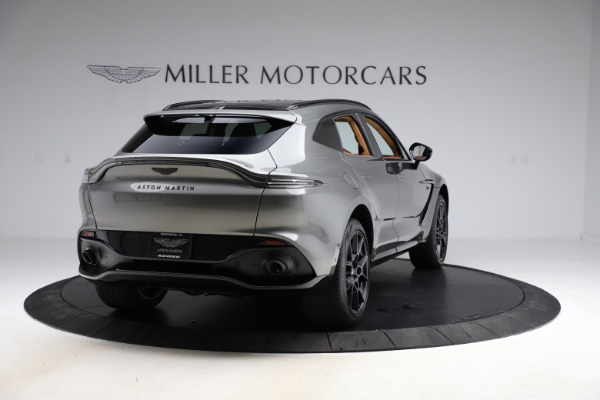 New 2021 Aston Martin DBX for sale $226,136 at Rolls-Royce Motor Cars Greenwich in Greenwich CT 06830 6
