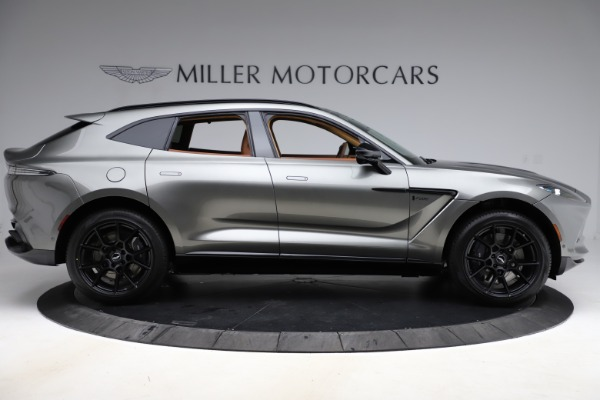 New 2021 Aston Martin DBX for sale $226,136 at Rolls-Royce Motor Cars Greenwich in Greenwich CT 06830 8