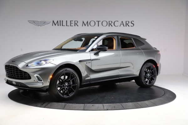 New 2021 Aston Martin DBX for sale $226,136 at Rolls-Royce Motor Cars Greenwich in Greenwich CT 06830 1