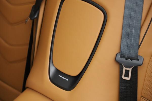 New 2021 Aston Martin DBS Superleggera Volante Convertible for sale $402,786 at Rolls-Royce Motor Cars Greenwich in Greenwich CT 06830 18