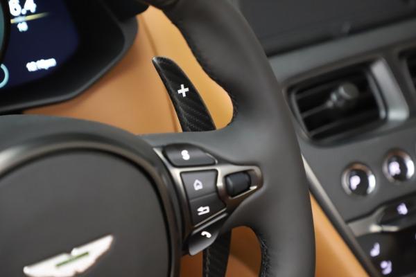 New 2021 Aston Martin DBS Superleggera Volante Convertible for sale $402,786 at Rolls-Royce Motor Cars Greenwich in Greenwich CT 06830 19