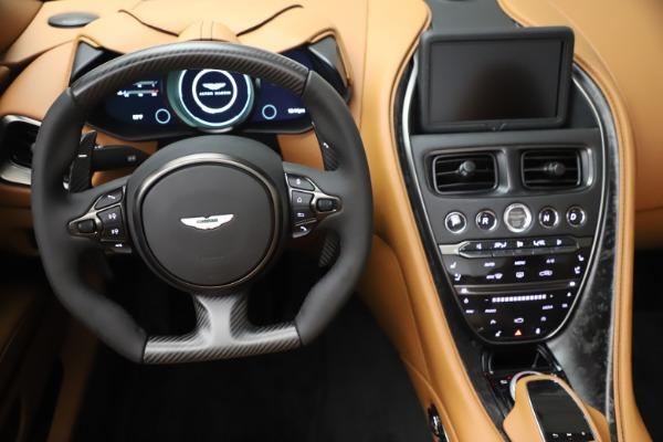 New 2021 Aston Martin DBS Superleggera Volante Convertible for sale $402,786 at Rolls-Royce Motor Cars Greenwich in Greenwich CT 06830 20