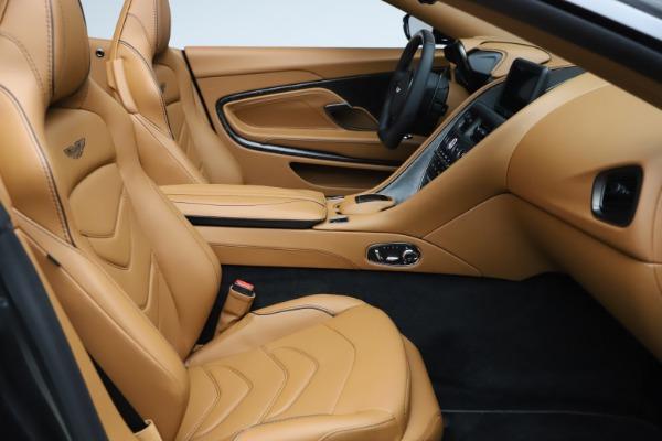 New 2021 Aston Martin DBS Superleggera Volante Convertible for sale $402,786 at Rolls-Royce Motor Cars Greenwich in Greenwich CT 06830 22