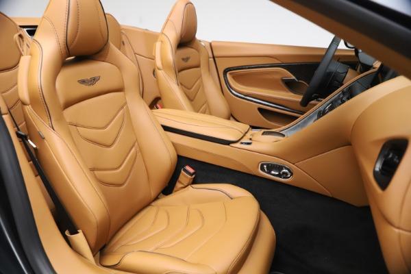New 2021 Aston Martin DBS Superleggera Volante Convertible for sale $402,786 at Rolls-Royce Motor Cars Greenwich in Greenwich CT 06830 23