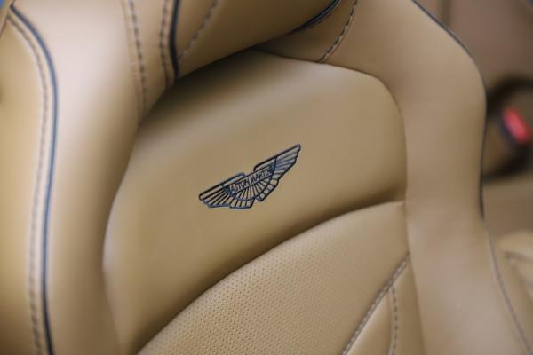 New 2021 Aston Martin DBS Superleggera Volante Convertible for sale $402,786 at Rolls-Royce Motor Cars Greenwich in Greenwich CT 06830 24