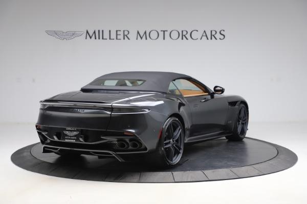 New 2021 Aston Martin DBS Superleggera Volante Convertible for sale $402,786 at Rolls-Royce Motor Cars Greenwich in Greenwich CT 06830 28