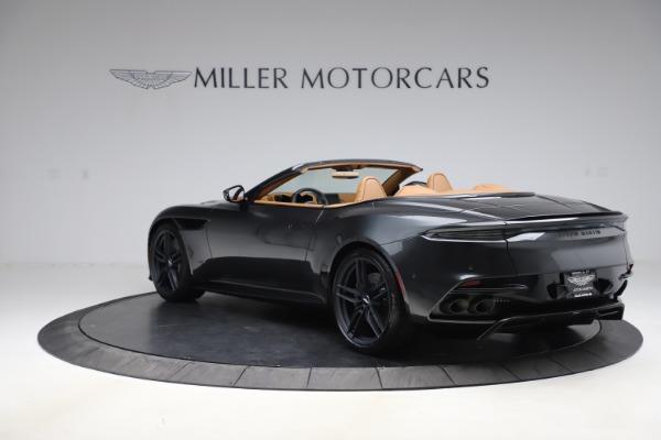 New 2021 Aston Martin DBS Superleggera Volante Convertible for sale $402,786 at Rolls-Royce Motor Cars Greenwich in Greenwich CT 06830 4