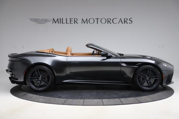 New 2021 Aston Martin DBS Superleggera Volante Convertible for sale $402,786 at Rolls-Royce Motor Cars Greenwich in Greenwich CT 06830 8