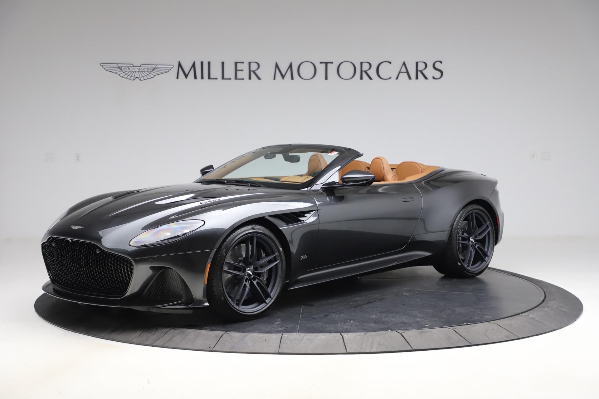 New 2021 Aston Martin DBS Superleggera Volante Convertible for sale $402,786 at Rolls-Royce Motor Cars Greenwich in Greenwich CT 06830 1