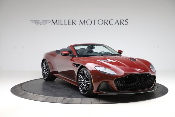 New 2021 Aston Martin DBS Superleggera Volante for sale $362,486 at Rolls-Royce Motor Cars Greenwich in Greenwich CT 06830 10