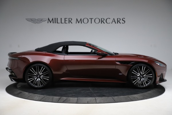 New 2021 Aston Martin DBS Superleggera Volante for sale $362,486 at Rolls-Royce Motor Cars Greenwich in Greenwich CT 06830 12