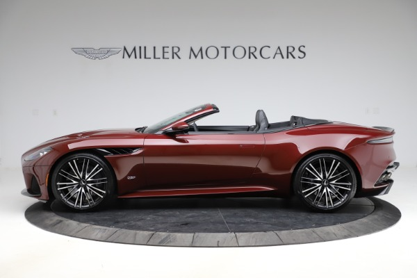New 2021 Aston Martin DBS Superleggera Volante for sale $362,486 at Rolls-Royce Motor Cars Greenwich in Greenwich CT 06830 2