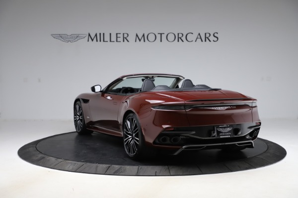 New 2021 Aston Martin DBS Superleggera Volante for sale $362,486 at Rolls-Royce Motor Cars Greenwich in Greenwich CT 06830 4