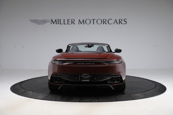 New 2021 Aston Martin DBS Superleggera Volante for sale $362,486 at Rolls-Royce Motor Cars Greenwich in Greenwich CT 06830 5