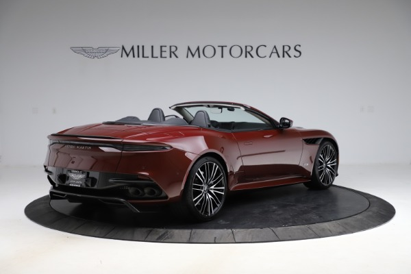 New 2021 Aston Martin DBS Superleggera Volante for sale $362,486 at Rolls-Royce Motor Cars Greenwich in Greenwich CT 06830 7
