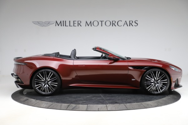 New 2021 Aston Martin DBS Superleggera Volante for sale $362,486 at Rolls-Royce Motor Cars Greenwich in Greenwich CT 06830 8