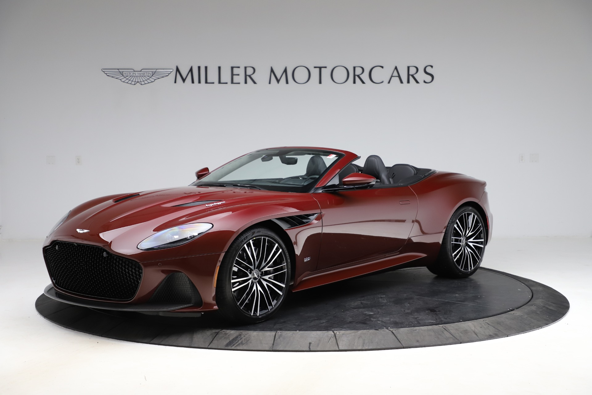 New 2021 Aston Martin DBS Superleggera Volante for sale $362,486 at Rolls-Royce Motor Cars Greenwich in Greenwich CT 06830 1
