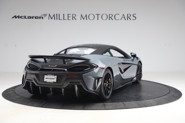 Used 2019 McLaren 600LT Coupe for sale $229,900 at Rolls-Royce Motor Cars Greenwich in Greenwich CT 06830 6