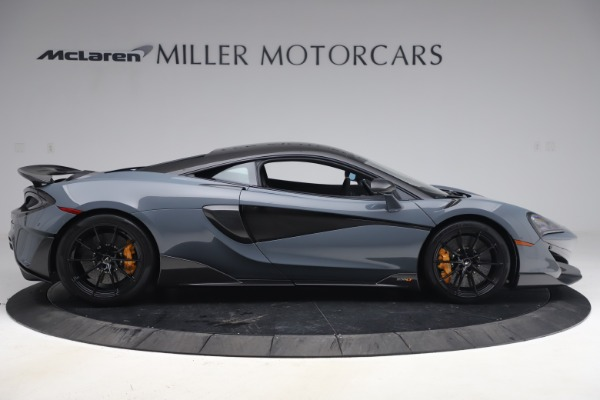 Used 2019 McLaren 600LT Coupe for sale $229,900 at Rolls-Royce Motor Cars Greenwich in Greenwich CT 06830 8