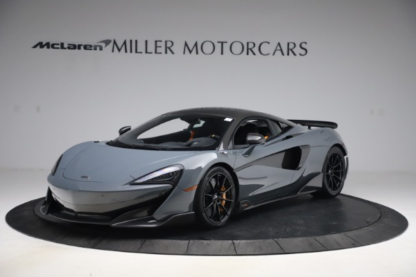 Used 2019 McLaren 600LT Coupe for sale $229,900 at Rolls-Royce Motor Cars Greenwich in Greenwich CT 06830 1