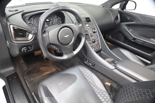 Used 2015 Aston Martin Vanquish Volante for sale $139,900 at Rolls-Royce Motor Cars Greenwich in Greenwich CT 06830 19
