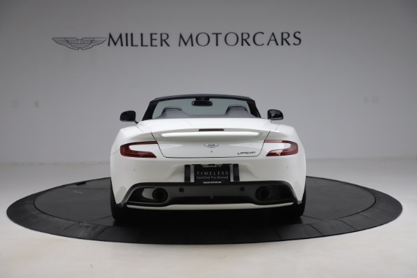 Used 2015 Aston Martin Vanquish Volante for sale $139,900 at Rolls-Royce Motor Cars Greenwich in Greenwich CT 06830 5