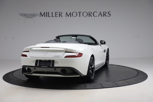 Used 2015 Aston Martin Vanquish Volante for sale $139,900 at Rolls-Royce Motor Cars Greenwich in Greenwich CT 06830 6