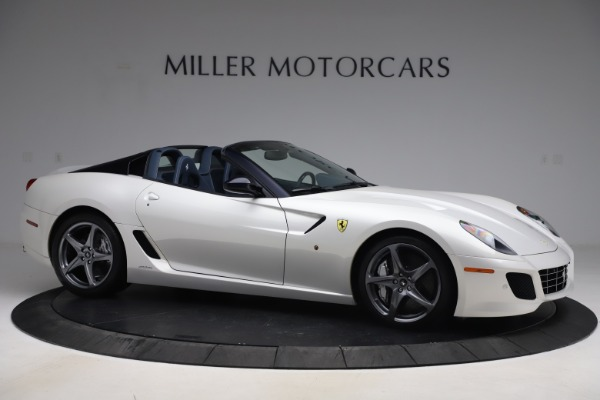 Used 2011 Ferrari 599 SA Aperta for sale $1,379,000 at Rolls-Royce Motor Cars Greenwich in Greenwich CT 06830 10