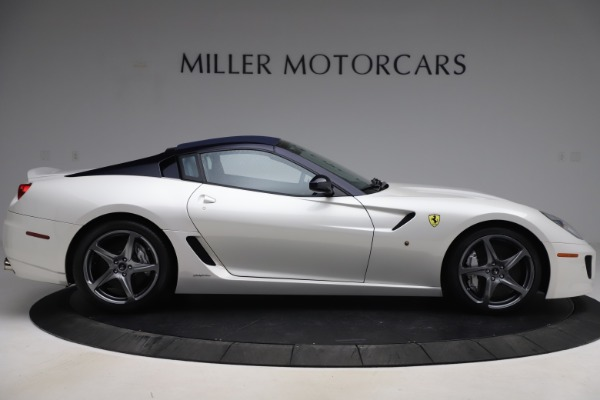 Used 2011 Ferrari 599 SA Aperta for sale $1,379,000 at Rolls-Royce Motor Cars Greenwich in Greenwich CT 06830 15