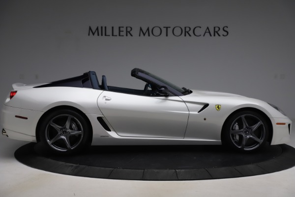 Used 2011 Ferrari 599 SA Aperta for sale $1,379,000 at Rolls-Royce Motor Cars Greenwich in Greenwich CT 06830 9