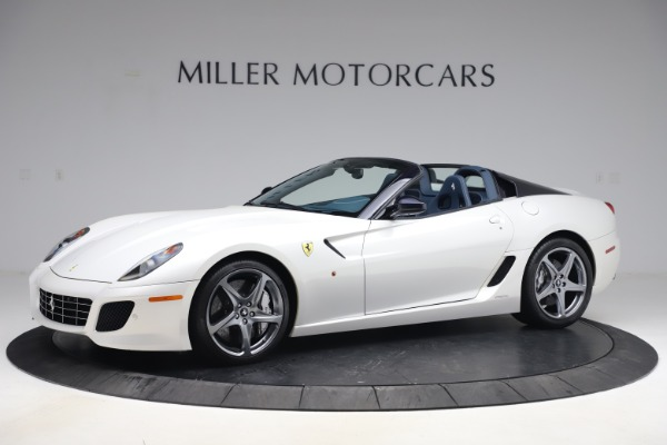 Used 2011 Ferrari 599 SA Aperta for sale $1,379,000 at Rolls-Royce Motor Cars Greenwich in Greenwich CT 06830 1
