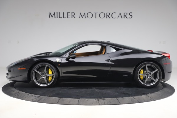Used 2012 Ferrari 458 Italia for sale Sold at Rolls-Royce Motor Cars Greenwich in Greenwich CT 06830 3