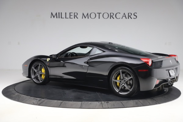 Used 2012 Ferrari 458 Italia for sale Sold at Rolls-Royce Motor Cars Greenwich in Greenwich CT 06830 4