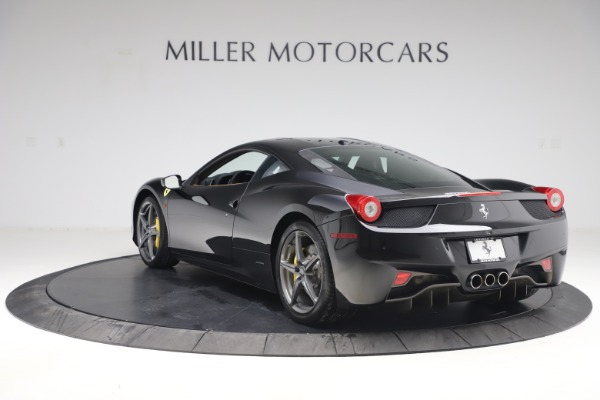 Used 2012 Ferrari 458 Italia for sale Sold at Rolls-Royce Motor Cars Greenwich in Greenwich CT 06830 5