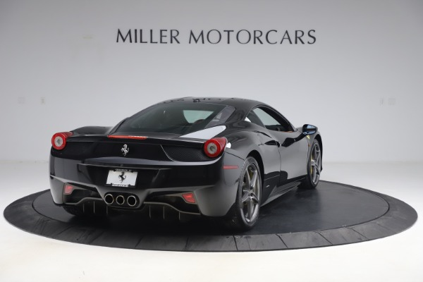 Used 2012 Ferrari 458 Italia for sale Sold at Rolls-Royce Motor Cars Greenwich in Greenwich CT 06830 7