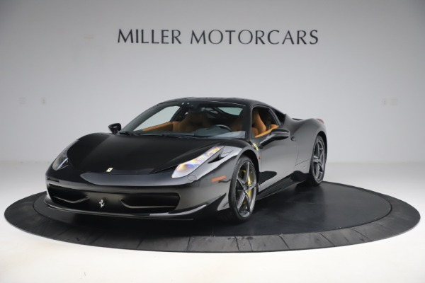 Used 2012 Ferrari 458 Italia for sale Sold at Rolls-Royce Motor Cars Greenwich in Greenwich CT 06830 1