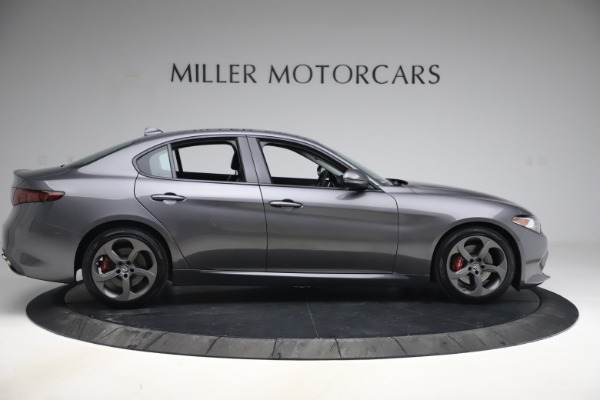 Used 2017 Alfa Romeo Giulia Ti Sport for sale $26,900 at Rolls-Royce Motor Cars Greenwich in Greenwich CT 06830 10