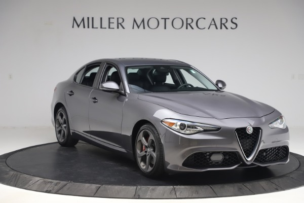 Used 2017 Alfa Romeo Giulia Ti Sport for sale $26,900 at Rolls-Royce Motor Cars Greenwich in Greenwich CT 06830 12