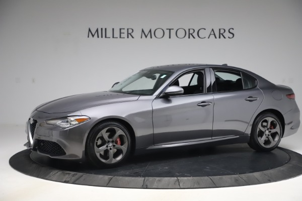 Used 2017 Alfa Romeo Giulia Ti Sport for sale $26,900 at Rolls-Royce Motor Cars Greenwich in Greenwich CT 06830 2