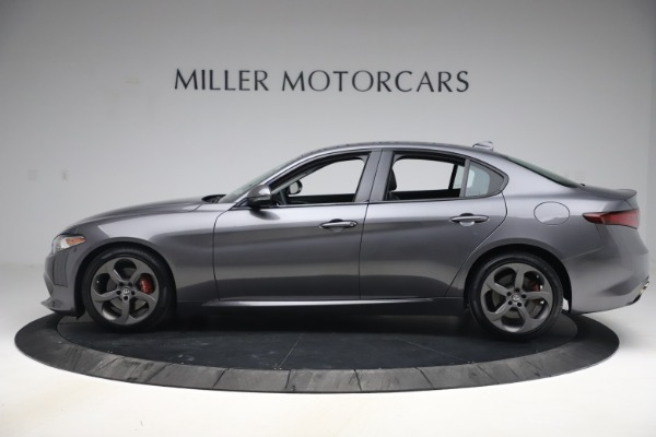 Used 2017 Alfa Romeo Giulia Ti Sport for sale $26,900 at Rolls-Royce Motor Cars Greenwich in Greenwich CT 06830 3