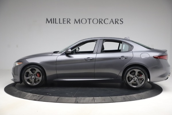 Used 2017 Alfa Romeo Giulia Ti Sport for sale $26,900 at Rolls-Royce Motor Cars Greenwich in Greenwich CT 06830 4