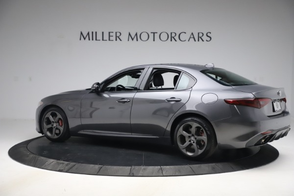 Used 2017 Alfa Romeo Giulia Ti Sport for sale $26,900 at Rolls-Royce Motor Cars Greenwich in Greenwich CT 06830 5