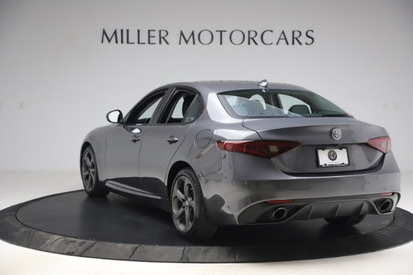 Used 2017 Alfa Romeo Giulia Ti Sport for sale $26,900 at Rolls-Royce Motor Cars Greenwich in Greenwich CT 06830 6