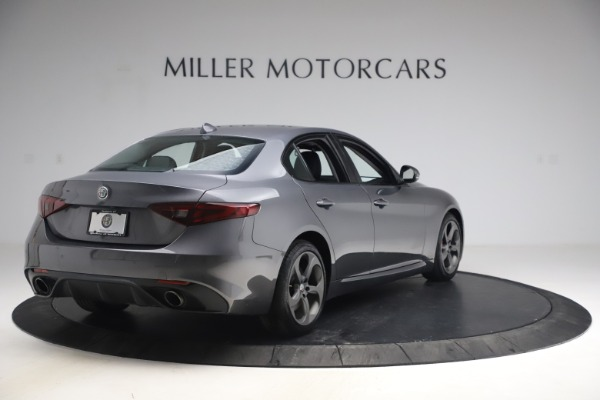 Used 2017 Alfa Romeo Giulia Ti Sport for sale $26,900 at Rolls-Royce Motor Cars Greenwich in Greenwich CT 06830 8
