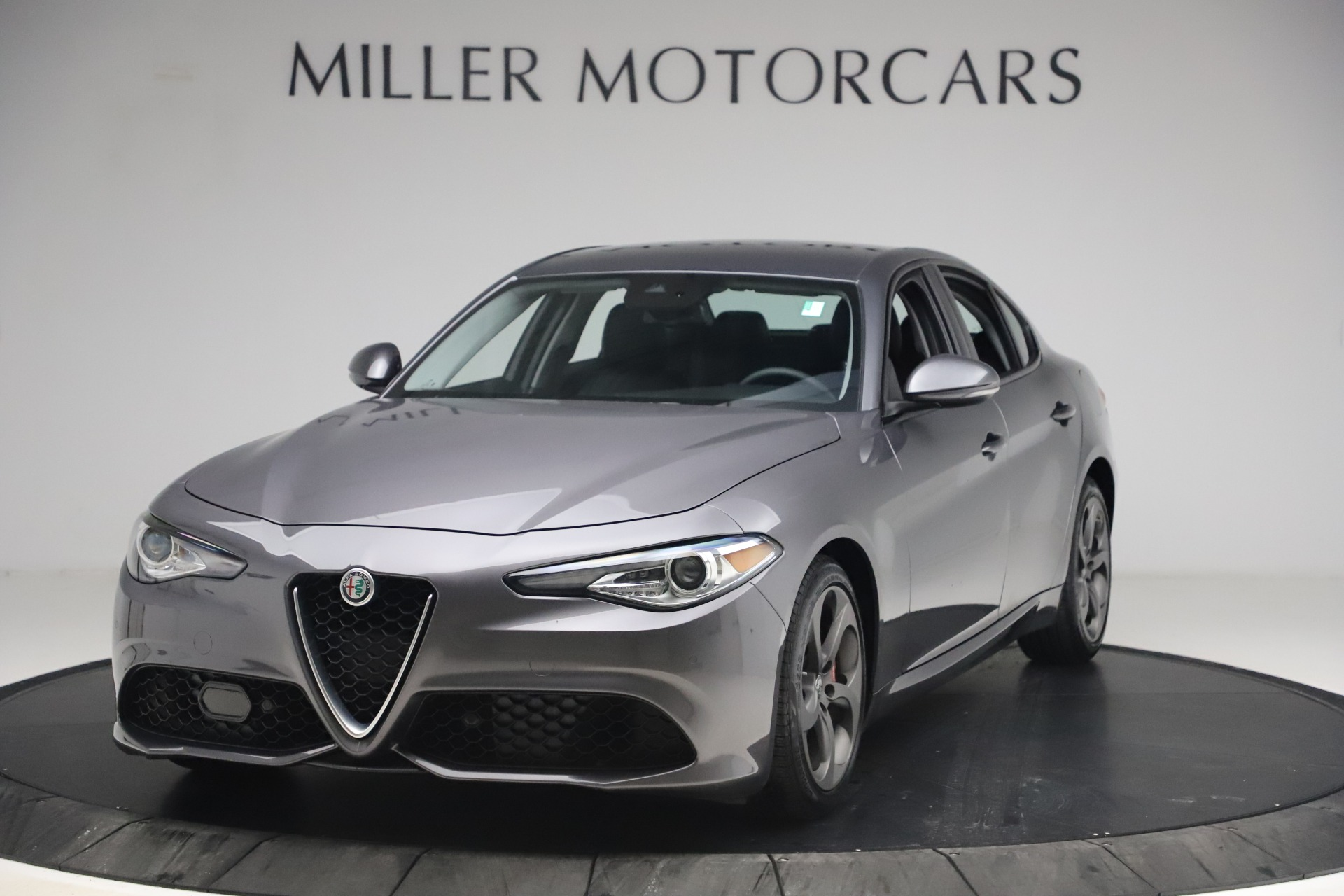 Used 2017 Alfa Romeo Giulia Ti Sport for sale $26,900 at Rolls-Royce Motor Cars Greenwich in Greenwich CT 06830 1