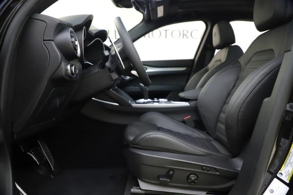 New 2020 Alfa Romeo Stelvio Ti Sport Q4 for sale Sold at Rolls-Royce Motor Cars Greenwich in Greenwich CT 06830 14