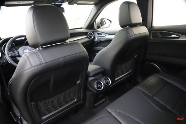 New 2020 Alfa Romeo Stelvio Ti Sport Q4 for sale Sold at Rolls-Royce Motor Cars Greenwich in Greenwich CT 06830 20