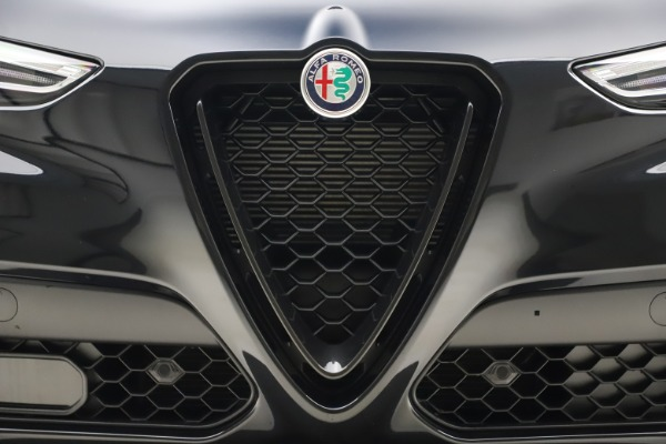 New 2020 Alfa Romeo Stelvio Ti Sport Q4 for sale Sold at Rolls-Royce Motor Cars Greenwich in Greenwich CT 06830 27