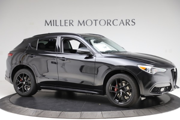 New 2020 Alfa Romeo Stelvio Ti Sport Q4 for sale $51,795 at Rolls-Royce Motor Cars Greenwich in Greenwich CT 06830 10